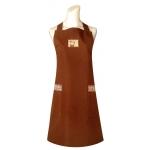 素色防水圍裙