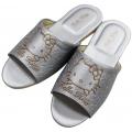 Kitty銀色大人拖鞋