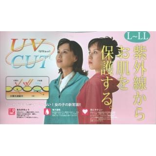 日本抗UV連帽外套-點點