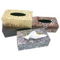 高級仿皮革面紙盒