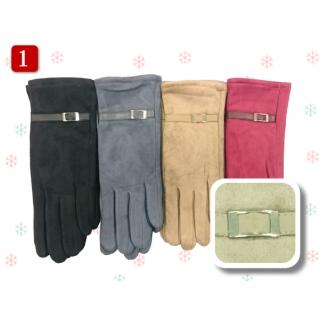 麂皮女手套