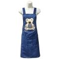 電繡熊圍裙
