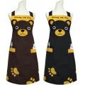 可愛熊頭圍裙-76*73 TT521