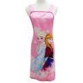 冰雪奇緣圍裙-粉紅 FZ-0008B