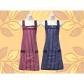 條紋圍裙-兩口