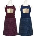 抱抱貓貼布繡圍裙