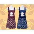 綿羊圍裙-電繡兩口