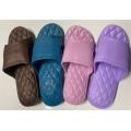 氣墊減壓菱格紋拖鞋