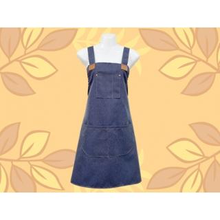 工業風圍裙(牛仔)