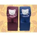 幸福貓面紙套