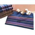 條緞紋理混紗浴巾